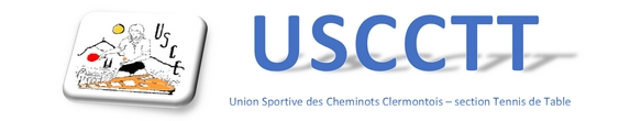 : [ club de tennis de table Clermont-Ferrand : US. CHEMINOTS Clermont-Fd ] :